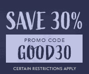 Save with promo code GOOD30