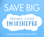 Save with promo code IMAGINEPRE